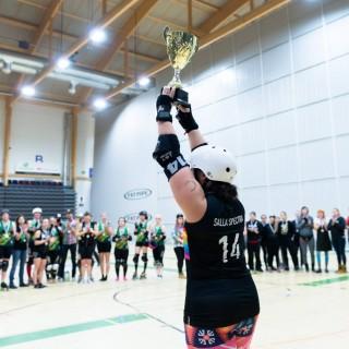 SM-kulta meni tiukkojen finaalitaistojen jälkeen Kalliolle. HRD nousi viime vuoden neljänneltä sijalta hopealle ja pronssin nappasi Tampere.  c)Ville Päivätie / Star Pass Photos